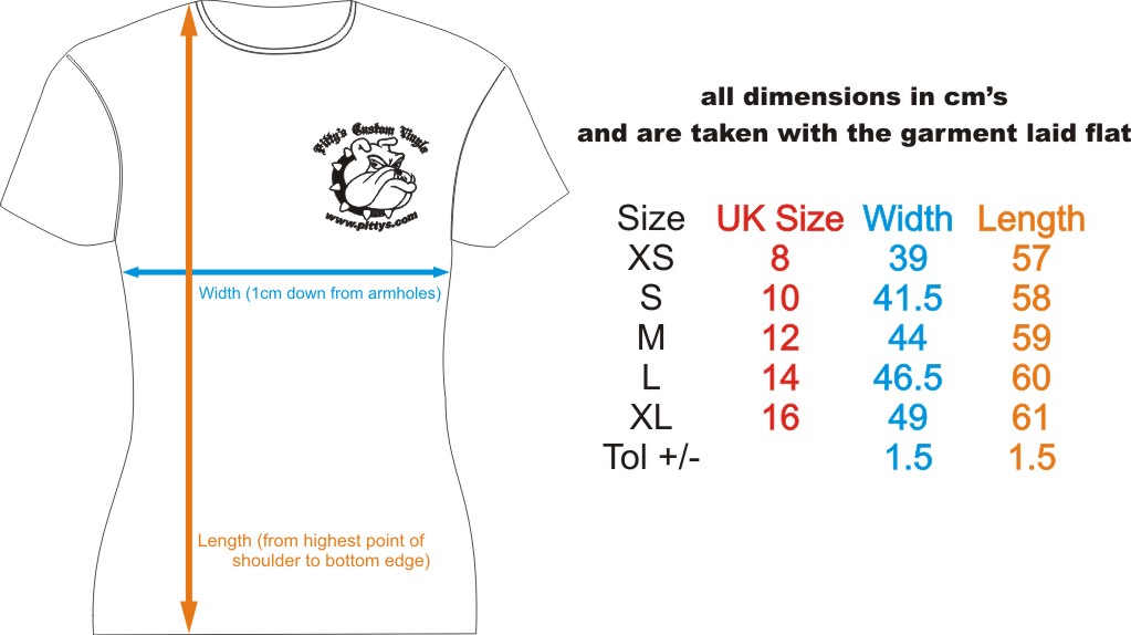 Shop for Uk shirt size chart